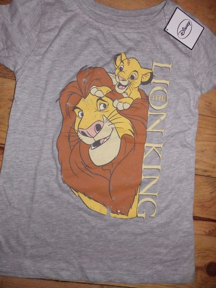 Primark Ladies DISNEY The Lion King Mufasa & Simba T Shirt