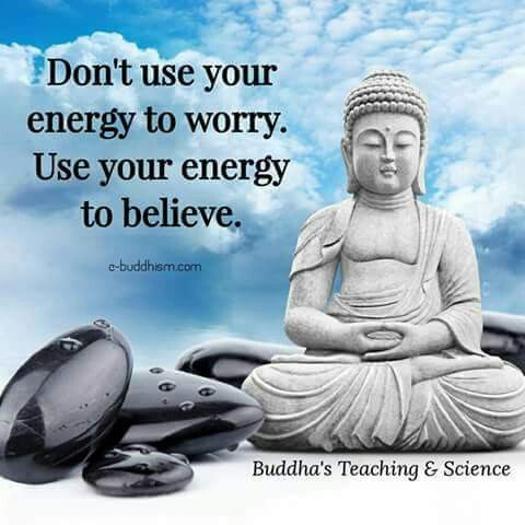 especially important if you are sick. Worry gives power to the condition. Not saying go into denial either but the power of positive thought has been proven to promote much better outcomes. It can and does alter gene expression. So if you want a favourable outcome you need favourable thoughts.