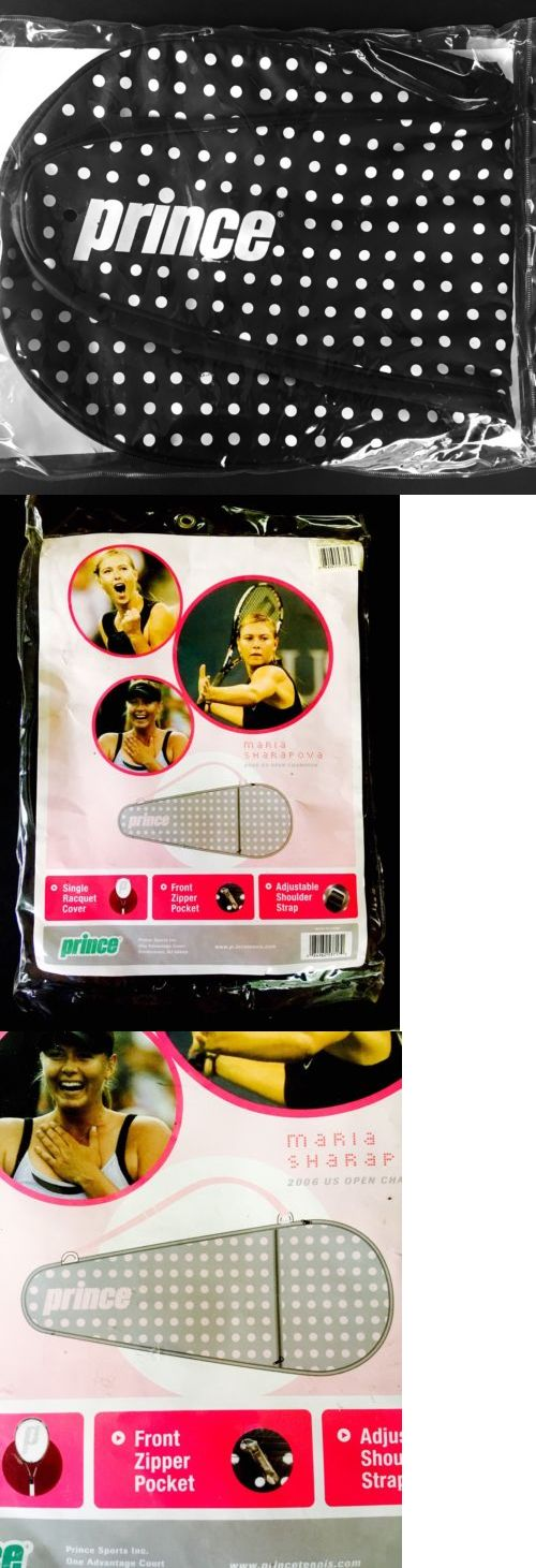Bags 20869: ~ Brand New Maria Sharapova Single Racquet Cover Tennis [Prince] Racket Bag -> BUY IT NOW ONLY: $32.99 on eBay!