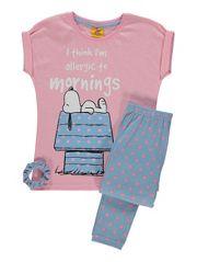 Snoopy Pyjama Set and Scrunchie