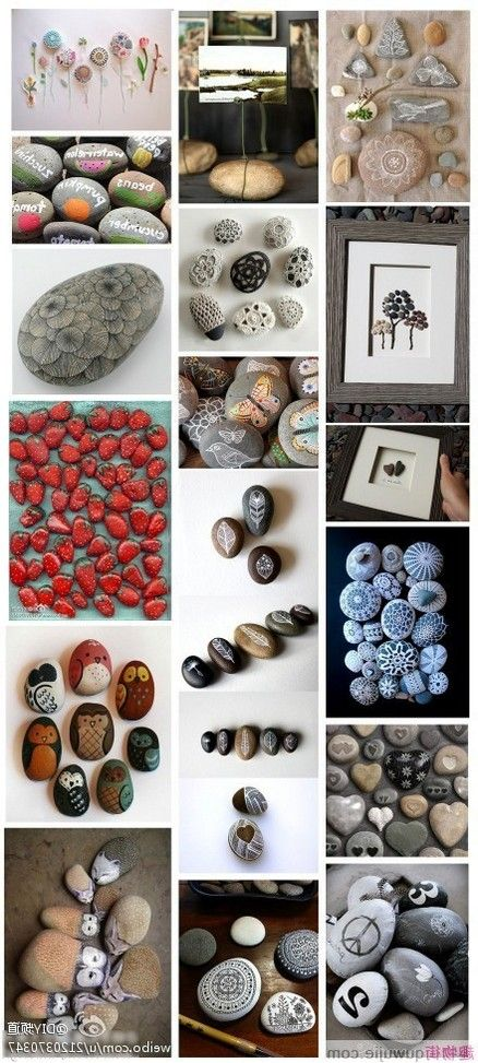 177 best driftwood and river rock projects images on for Diy projects with rocks