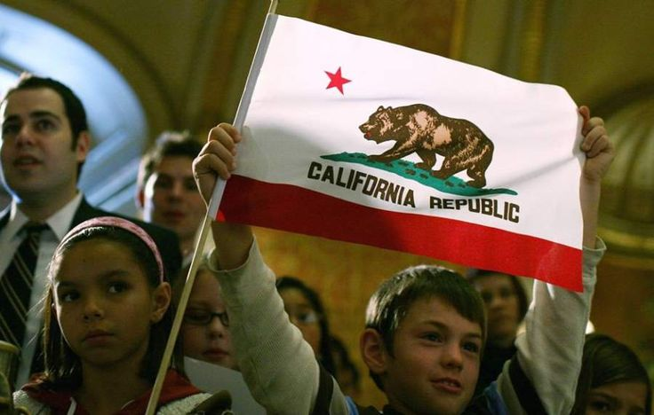 """California mulling a """"CalExit"""" to become a sovereign state. I say all blue states join them.  Let the racist states sink under the weight of their own hatred and ignorance."""