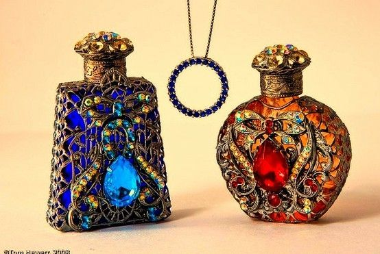 perfume bottles from prague by Donn