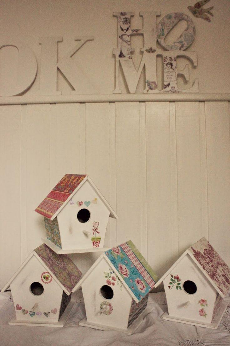 Tienda La Florinda: casitas para pájaros