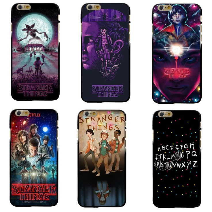 Hot TV Stranger Things Pattern Case For iPhone 6 6S 7 Plus 5 5S SE Black Soft Silicone Phone Cases Cover For Fundas iphone 7Plus