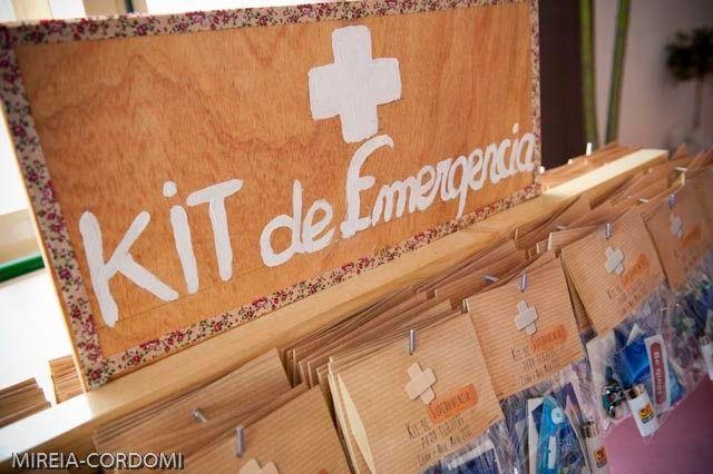 Kit de emergencia para bodas.