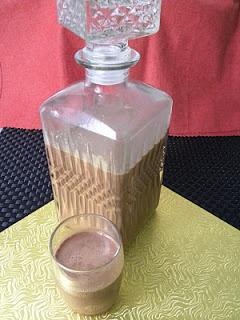 Licor de crema de cacao con avellanas