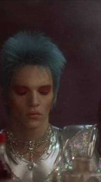 velvet goldmine glam or sham Velvet goldmine (1997)  glam rock star brian slade predicts and enacts his own death onstage when the killing is exposed as a hoax, slade's stardom quickly ends a decade later.