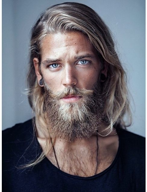 BEN DAHLHAUS by ESRA SAM Maybe just add some layers and get a flat iron? (I just lost 30 minutes looking at Captain America pins.)
