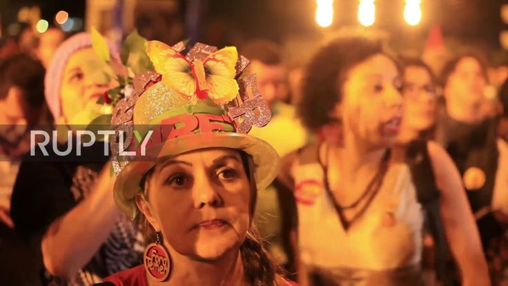 Thousands of people marched through Belo Horizonte, Friday night, calling for the resignation of Brazilian President Michel Temer and for a new round of elec...