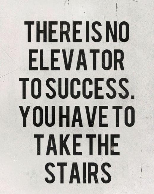 start climbing.