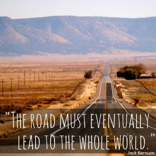 Travel Quotes from Jack Kerouac. Photo by Chuck Coker