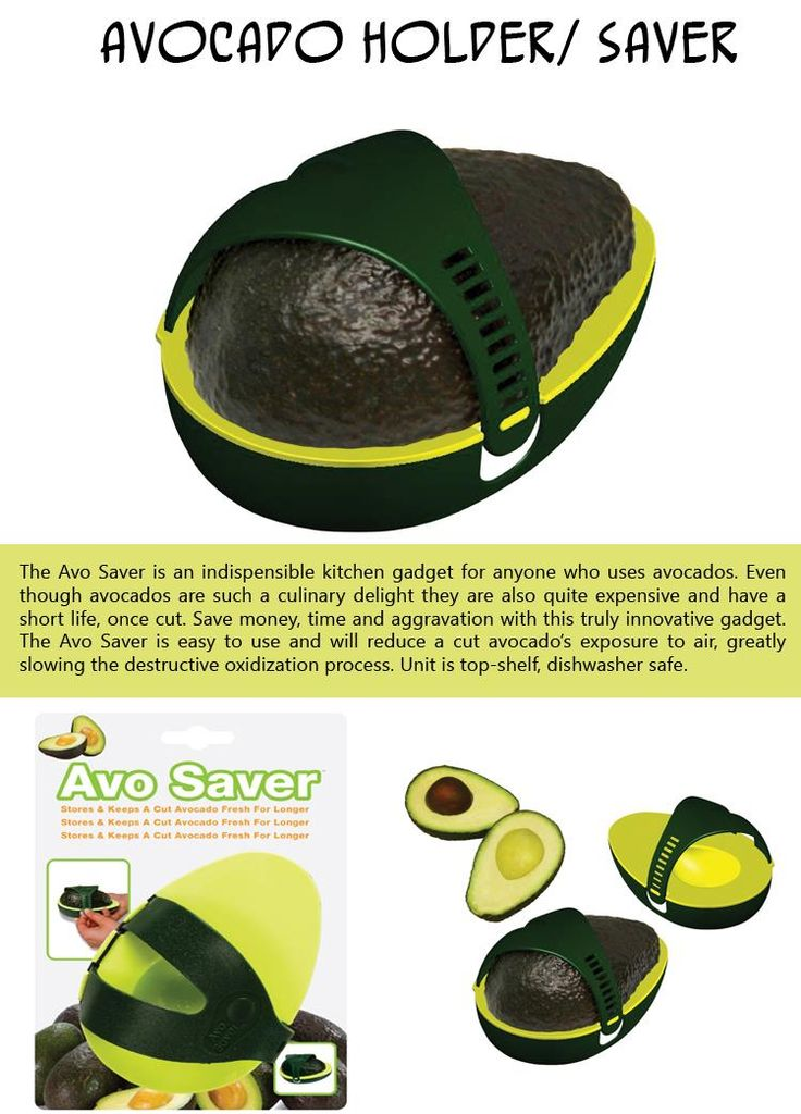 Genius   Saves Your Half Eaten Avocado For Later Without Letting It Get  Brown!