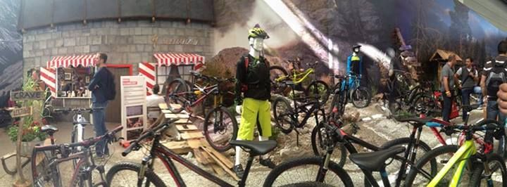 The out of control #Specialized stand! This place was like going into a different world! #eurobike #specialized2014 #eurobike2013