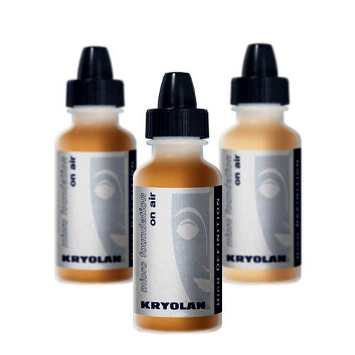 Maquillaje para imágenes de alta resolución. Este producto se pulveriza con aerógrafo. Presentación 15 ml