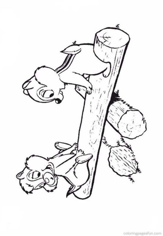 57 best images on pinterest for Chip n dale coloring pages