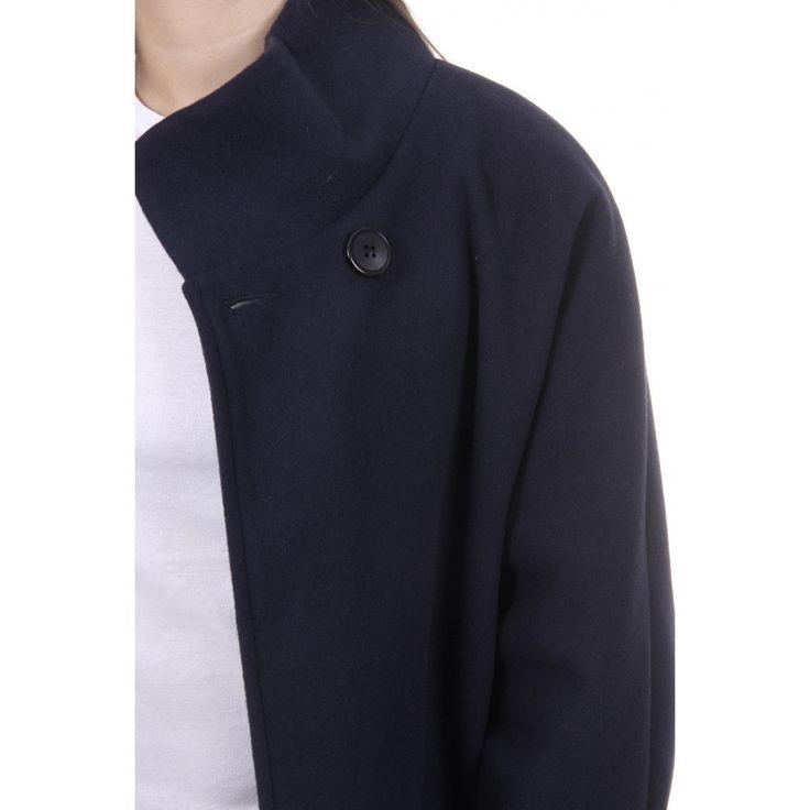 Dark Blue L Versace 19.69 Abbigliamento Sportivo Srl Milano Italia Womens Jacket MANTELLA ROSANNA VELOUR FRANCESE