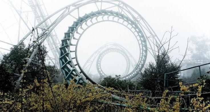 Zábavné parky duchov #World #kolotoce #prazdno #strach #zabavny_park