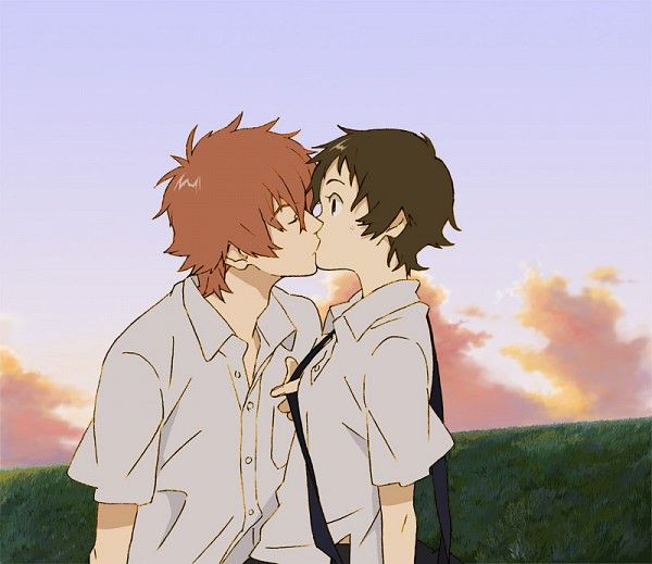 """Makoto and Chiaki from """"The Girl Who Leapt Through Time"""""""