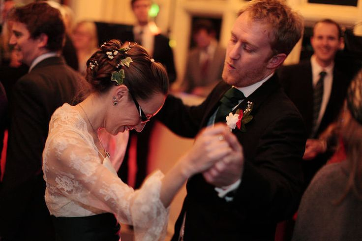 and then a bit of fun with the first dance