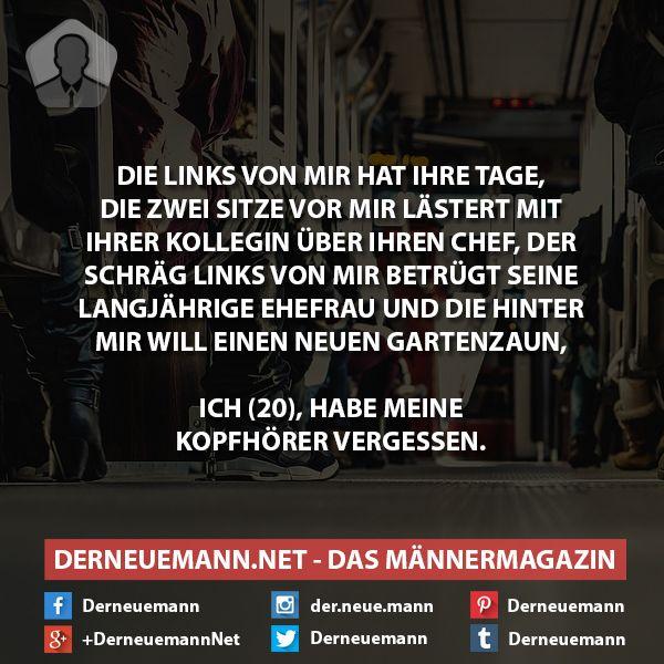 Kopfhörer vergessen #derneuemann #humor #lustig #spaß #sprüche