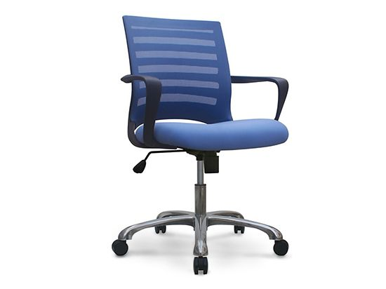 Barrier Desk Chair Blue Office Chairs Pinterest