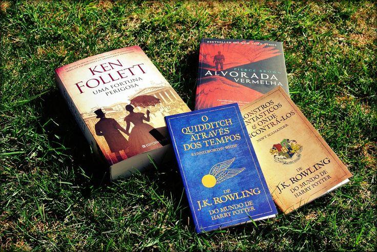Follett, Pierce Brown e J.K. Rowling: livros novos que saem a 18 de março!