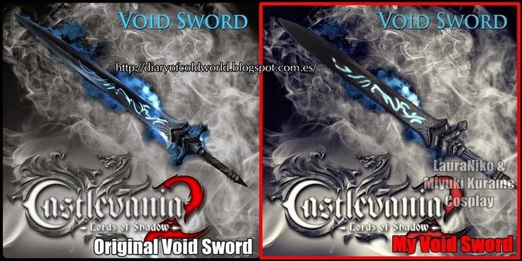 Dracul's Void Sword from Castlevania LoS 2 by KissShiningTutorials  Got the tutorial ^^