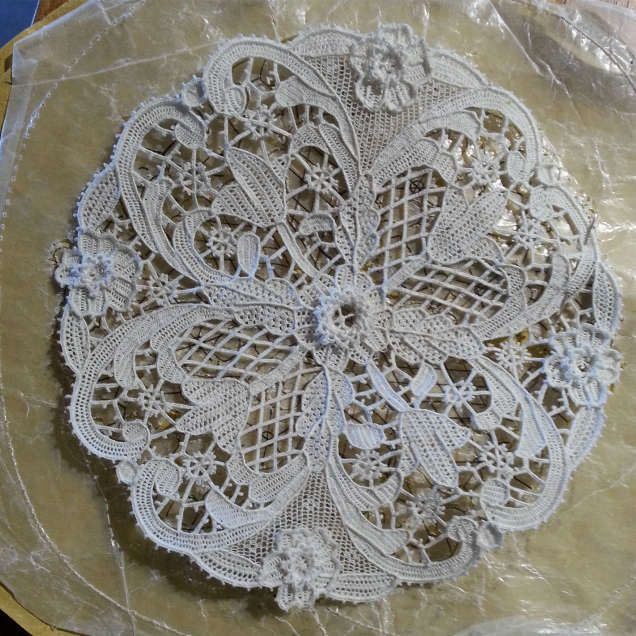 The most beautiful residences can't have in their interior some Martina's lace collection. The original Burano lace shop.