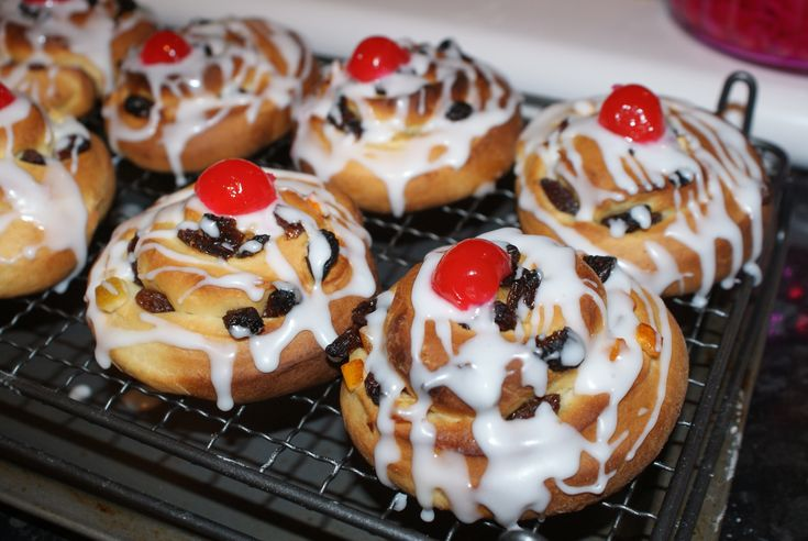 Belgium Bun recipe, from Mary Berry