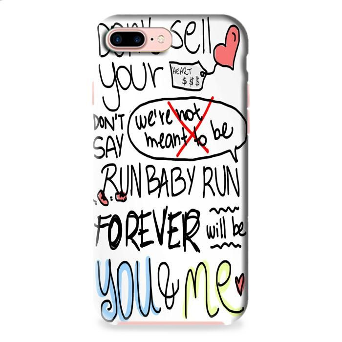 We The Kings Check Yes Juliet Lyric Cover iPhone 7 3D Case Dewantary