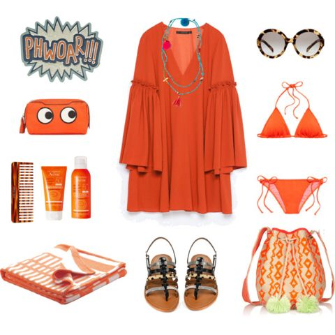 Summer Outfit 8 Orange Power
