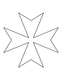 Maltese Cross Pattern