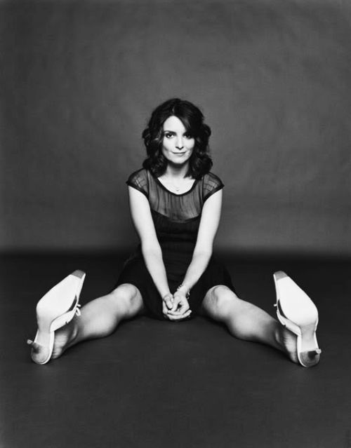 Tina Fey makes me believe in women as a whole. She knows who she is, and women like her give me hope.