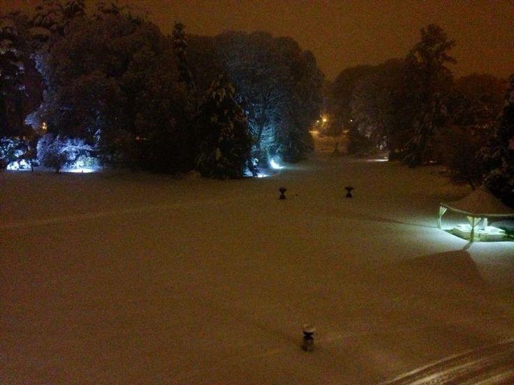 parco innevato, dicembre, winter