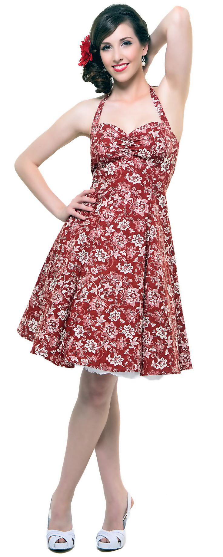 58 best floral dresses images on Pinterest   Floral dresses, Flower ...