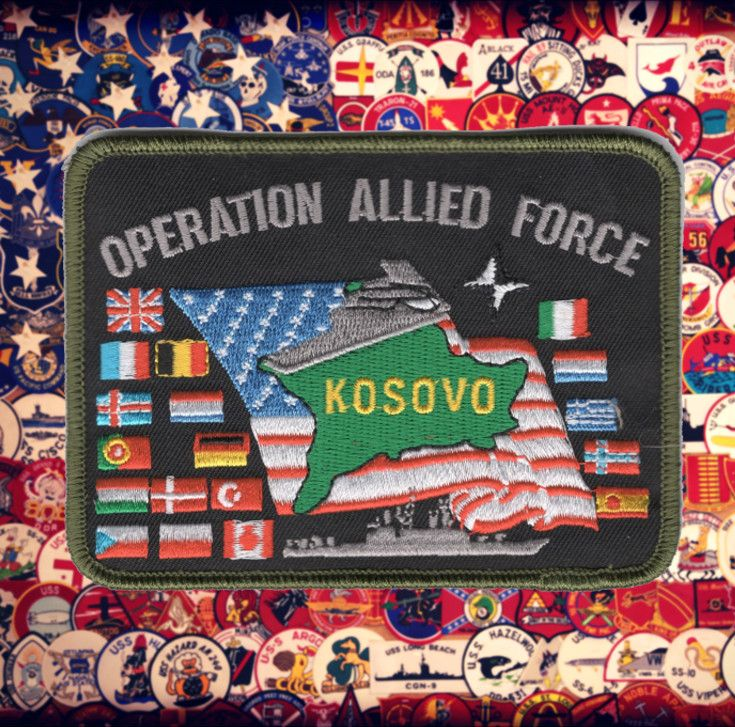 Operation Allied Force Patch | US Military Combined Forces