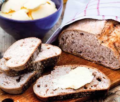 Riktigt gott bröd! Och enkelt! ⭐️ Glöm inte brödkryddor (av eget val) - det piffar brödet. || Äppellimpa