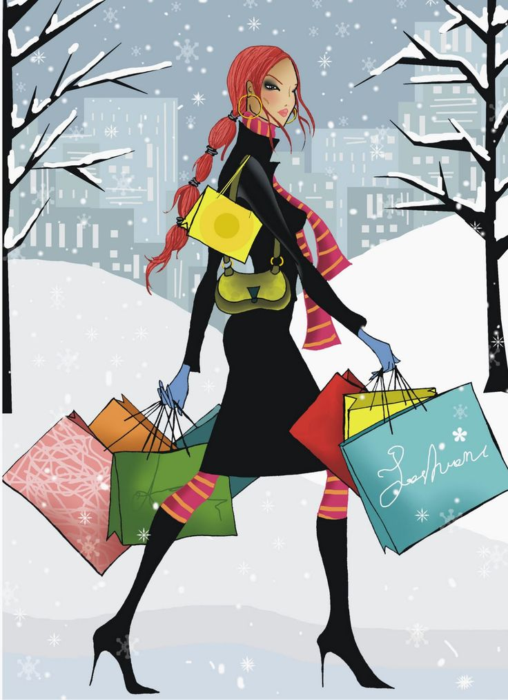 What Presents should I buy for Christmas?Holiday, Ski, Christmas Shops, Winter, Pretty Colors, Snow, Fashion Illustration, Unlimited Shops, Black Friday