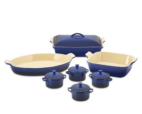 Le Creuset stoneware 12 piece set