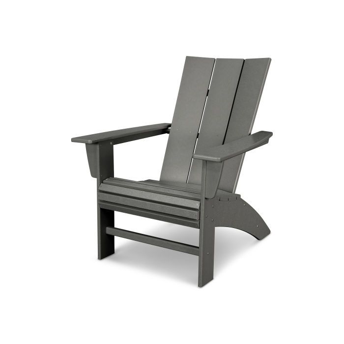 Modern Curveback Adirondack In 2019 Outdoor Chairs Adirondack