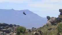 Zip Line - Ceres Zipline Adventures. The longest zip line tour in Africa. Our zip slide has a total length of 1.4 km and offers 8 slides, varying from 110 to 290 metres in length. It's amazing. It's spectacular. It's awesome.