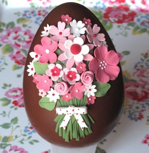 easter chocolate eggs - Cake by Francisca Neves