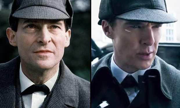 Sherlock Christmas special trailer pays tribute to classic Jeremy Brett series with shot-for-shot recreation of opening scenes