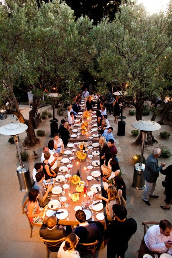 Napa Valley Welcome Dinner By Rosemary Events