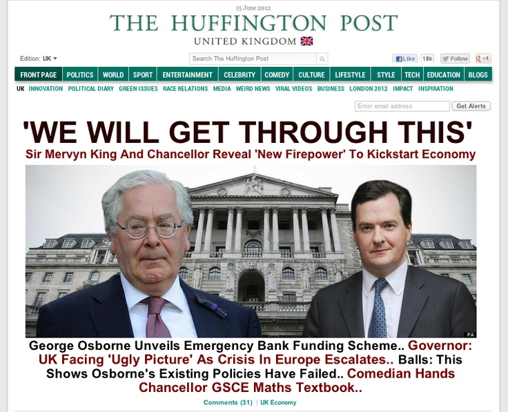Huffington Post UK Splash: 'WE WILL GET THROUGH THIS'