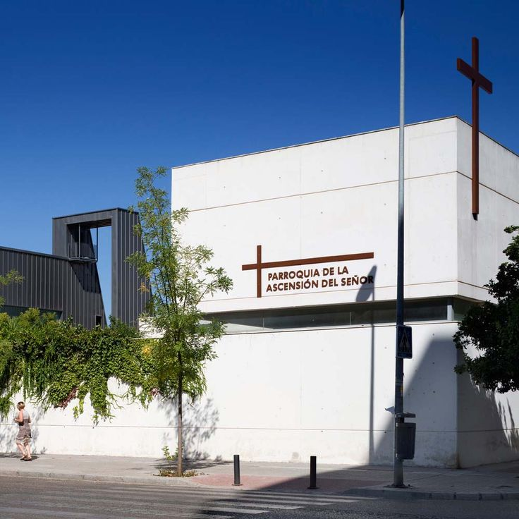 'La Ascensión del Señor' Church by AGi architects in Seville, Spain
