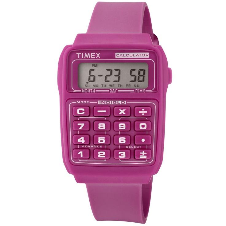 Un reloj calculadora, yo siempre he querido uno así de bonito