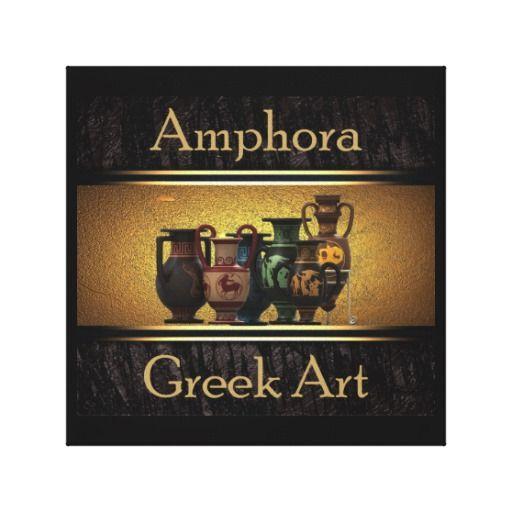 Greek art canvas prints