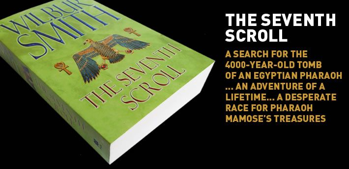 The Seventh Scroll - search for the 4000 year old tomb of an Egyptian Pharaoh.  One in a series, excellent.
